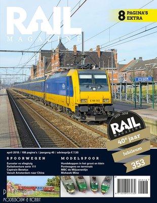 Rail Magazine 353. April 2018