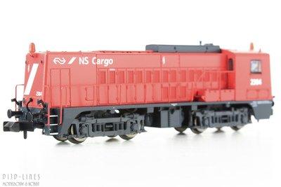 NS Cargo diesellocomotief 2384