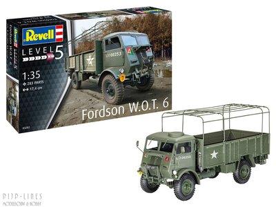 revell 03282 Model W.O.T. 6 1:35