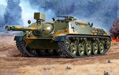 Revell 03276 Cannon Hunting Tank + Observation-versie (BeobPz) 1:35