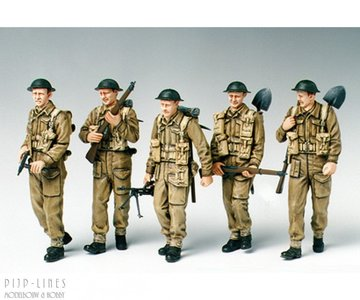 Tamiya 35223 Britsh Infantry on Patrol 1:35