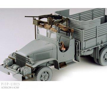 U.S. 6x6 Cargo Truck Accesory set