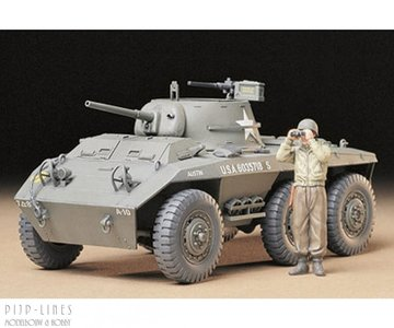 Tamiya 35228 U.S. M8 Light Armored Car 1:35