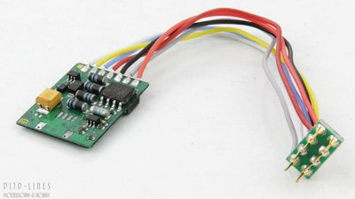 Uhlenbrock 76320 Basis-Lokdecoder NEM652 DCC/Mot