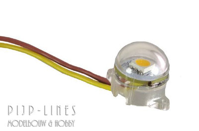 Brawa 94700 LED lichtbol voor in huisjes Warm Wit