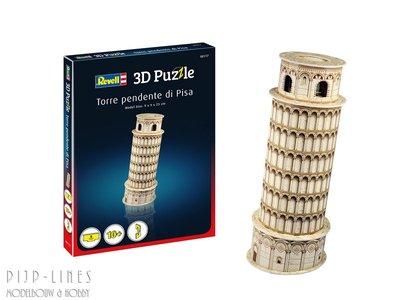 Revell 00117 3D Puzzel Scheve toren van Pisa