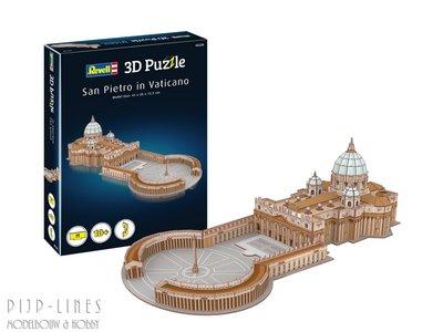 Revell 00208 3D Puzzel San Pietro in Vaticano