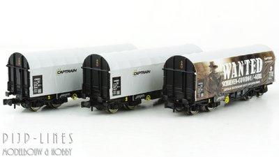 Fleischmann 837932 Captrain 3-delige set Schimmns WANTED