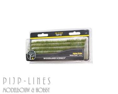 Woodland-Scenics FS781 Edging Strips Donkergroen