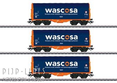 Marklin 47223 NL Wascosa set huifwagens Type Shimmns