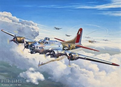 revell 04238 B-17G Flying Fortress 1:72