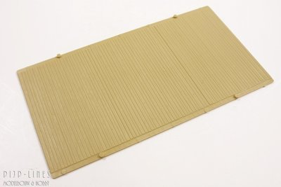 Auhagen hout profiel wand vloer pijp lines modelbouw hobby