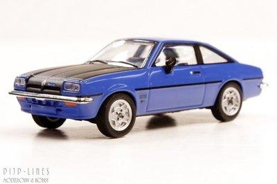 Herpa-24389-004 Opel Manta B blauw