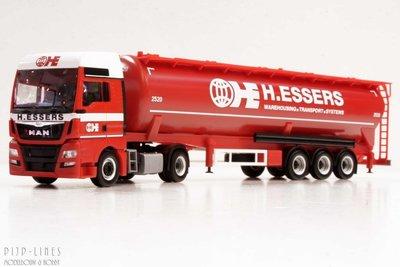 Herpa 305570 MAN TGX S.Sz H. Essers group
