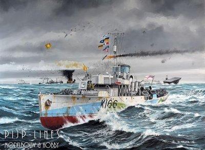 Revell 05132 Flower Class Corvette HMCS SNOWBERRY 1:144