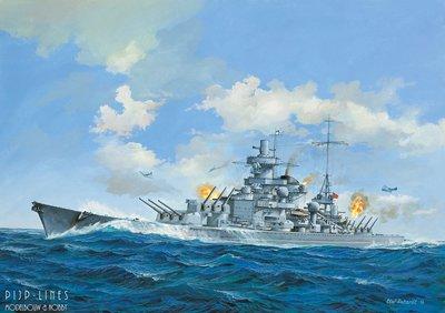 Revell-05037-Scharnhorst-1:570
