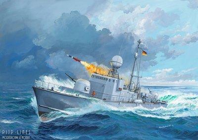 Revell-Fast-Attack-Craft-Albatros-Class-143-1:144