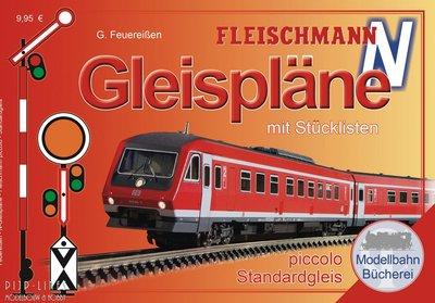 Fleischmann 81399 Fleischmann Profi-rails railplan boek N