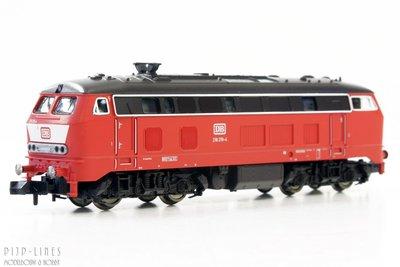 Fleischmann 724001 DB Diesel locomotief BR 218 1:160 N