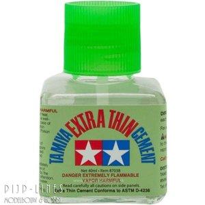 Tamiya 87038 Tamiya Extra Thin Cement Plastic lijm 40ml