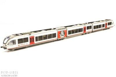 Piko 40227 Veolia Diesel treinstel GTW 2/8 1:160 N