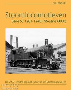 Boek Stoomlocomotieven Serie SS 1201-1240 (NS-serie 6000) Paul Henken
