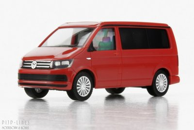 Herpa 28745-002 VW T6 California Rood 1:87 H0