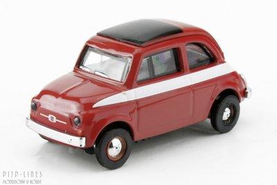 Schuco 26272 Fiat 500 Rood 1:87 H0