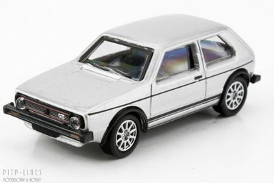 Schuco 26267 VW Golf 1 GTI Zilver 1:87 H0
