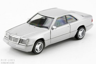 Herpa 38782 MB E320 Coupé Zilver 1:87 H0