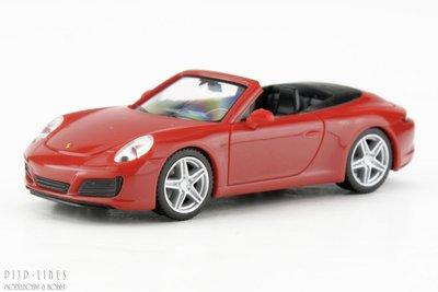 Herpa-28844-Porsche-911-Carrera-2-Cabrio-1:87-H0