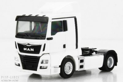 Herpa 308366 MAN TGX XL 6c Wit