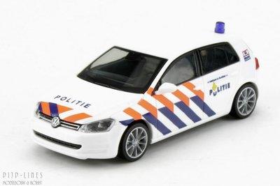 Rietze 53203 VW Golf 7 Politie (NL) 1:87 H0