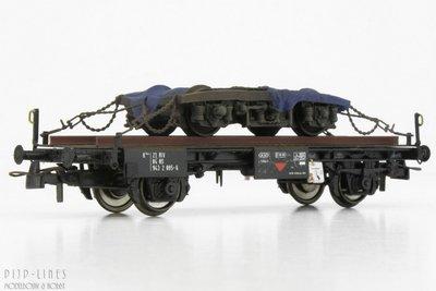 Artitec 20.316.03 NS Werkwagen met draaistel 1:87 H0