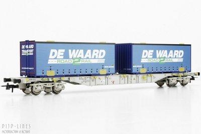 """Roco 76931 NL AAE container draagwagen """"DE WAARD"""" 1:87 H0"""