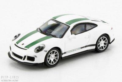 """Schuco 26300 Porsche 911 R """"Wit/groen"""""""