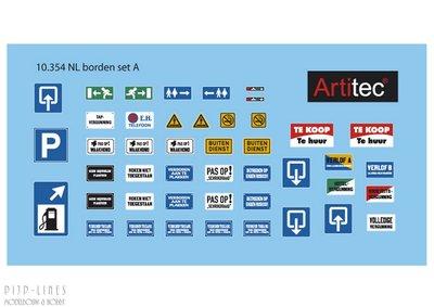 Artitec 10.354 NL Borden set A