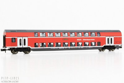 Fleischmann 862807 DB-AG Dubbeldekker 2e klas (Südostbayernbahn)