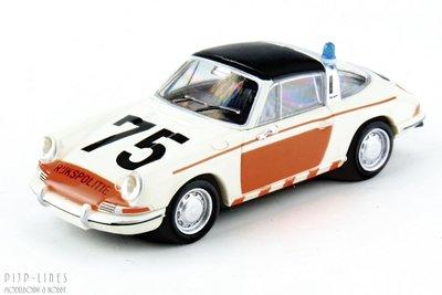 """Brekina 16267 Porsche 911 Targa """"Rijkspolitie"""" 75"""