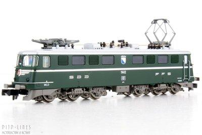 Fleischmann 737291 SBB Elektrische locomotief Ae 6/6 DCC digitaal Sound 1:160 N