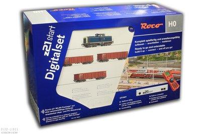 Roco 51299 Digitale startset z21start DB Diesellocomotief BR 211 met goederentrein