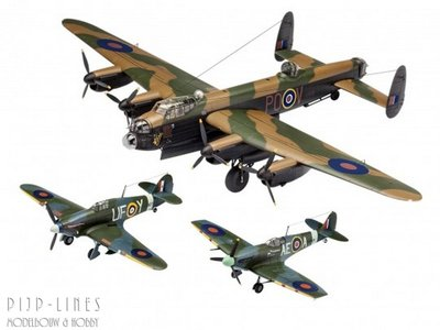 Revell 05696 100 Years RAF: Flying Legends 1:72