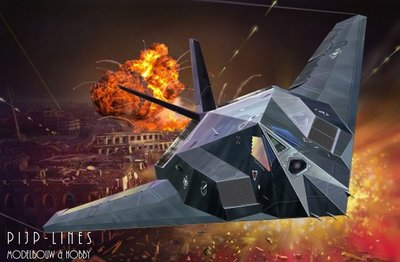 F 117 Stealth Fighter Game Revell 03899 F-117a St...