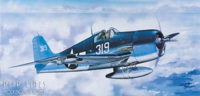 Trumpeter 02258 F6F-3N Hellcat night fighter 1:32