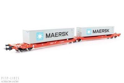 "Piko 54775 DB Containerdraagwagen Type T3000 ""Maersk"""