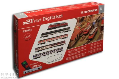 "Fleischmann 931881 Digitale startset ""z21start"" DB V221 met sneltrein"