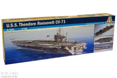 Italeri 5531 U.S.S. Theodore Roosevelt CV-71 1:720