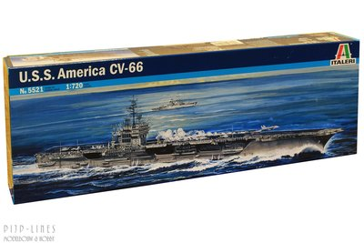 Italeri 5521 U.S.S. America CV-66 1:720