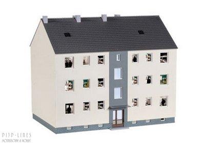 """Herpa 746304 Militaire barak bouw set """"Mannschaftsgebäude"""""""