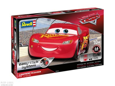 "Revell 07813 Lighting McQueen ""easy-click system"""